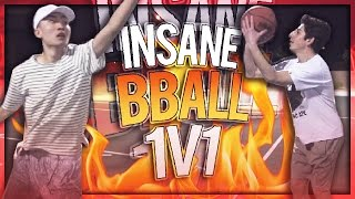 INSANE BASKETBALL 1V1 VS FAZE RUG!!!