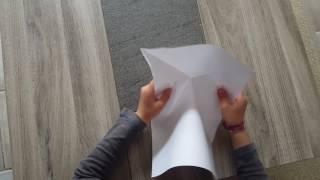 avion en papier qui plane - la rafale-