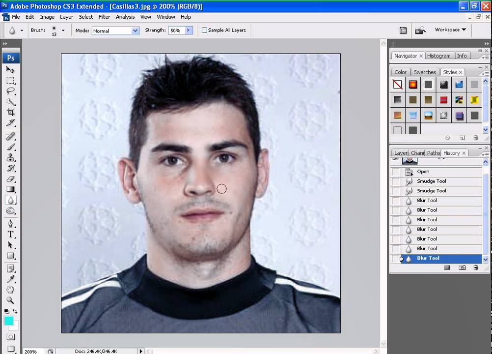 Как сделать в photoshop cs3