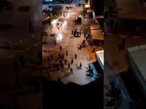 مواجهات بامزورن بين المحتجين و اجهزة القمع المخزنية