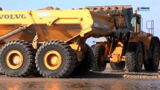 Volvo A25E articulated dump trucks Wheel Loader