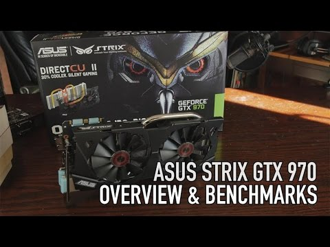 ASUS GTX 970 Strix Benchmarks and Overview - Win This Card & a Swift Monitor