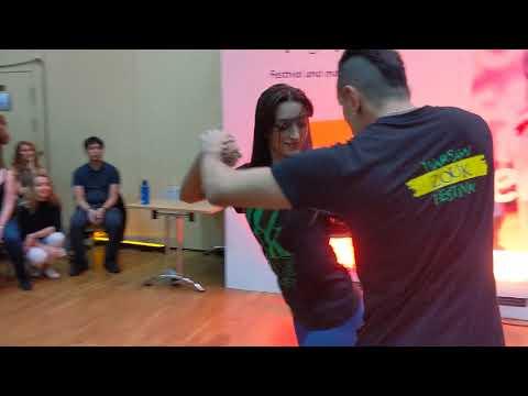 WZF2019: Aline & Michael in Friday class demo ~ Zouk Soul