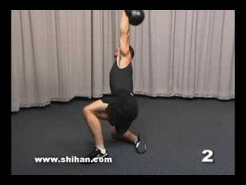 Steve Cotter Kettlebell Turkish Get Up Instructional Video Image 1