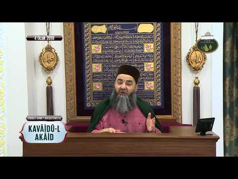 Cübbeli Ahmet Hoca Efendi ile Kavâidü-l Akâid Dersi 2. Bölüm 4 Ocak 2018