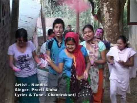 Bishnupriya Manipuri Song   Amatik Bana Nungshipeya Hridigo video