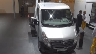 Opel Movano Chassis L3H1 3,5t Exterior and Interior in 3D 4K UHD