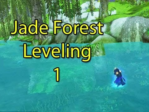 Mists of Pandaria Beta: Jade Forest Leveling with Cox and Crendor Part 1 (Pandaria Gameplay)