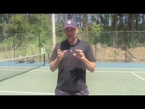 Volley Tennis Tip: Block the Volley...sorry not enough to win