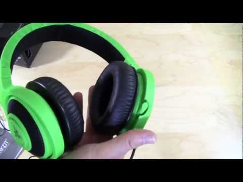Razer Kraken Pro Gaming Headset Unboxing & Overview