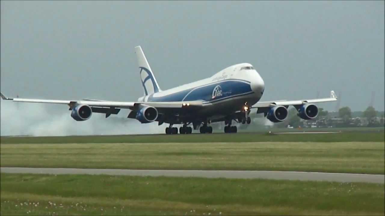Vliegtuigen spotten op Schiphol   Heel veel actie op ...