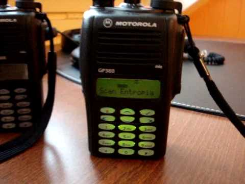 Motorola HAM radio GP380 GP388.MPG