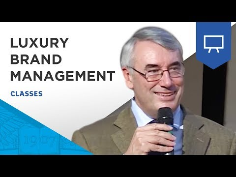 "Master Class ESSEC | ""Luxury Brand Management"" by Denis Morisset"