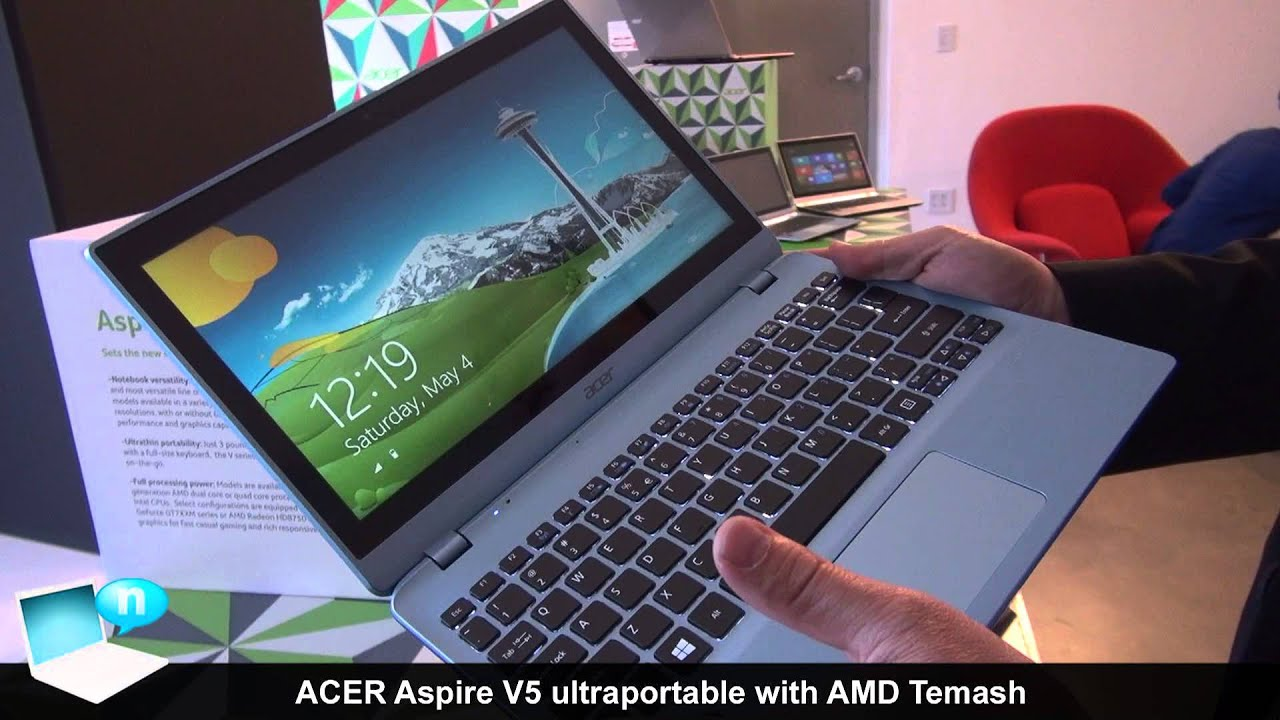 Ultrabook Acer Aspire v5 Acer Aspire V5-122 Ultrabook