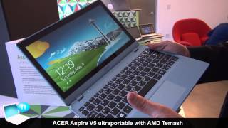 Acer Aspire V5 with AMD A6 Temash