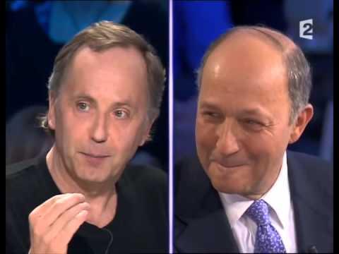 Laurent Fabius - On n'est pas couché 26 janvier 2008 #ONPC