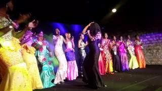 Miss Sénégal France 2015 avec TiTi la lionne