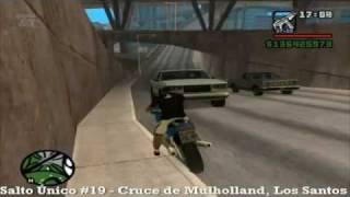 GTA San Andreas - Salto Único #19 Cruce de Mulholland, Los Santos - MQ