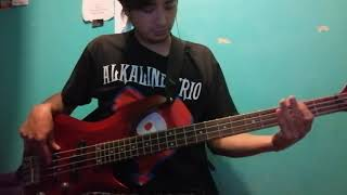 Hot Water Music - One Step To Sleep (Bass cover)
