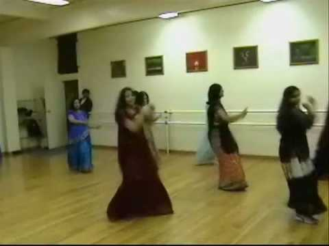 Shibani and Jyoti doing Beedi performance in Dance Masti classes...