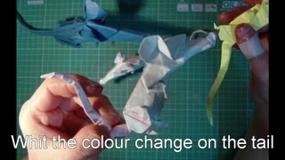 Origami Tutorial Rat And Mouse Colour Change On The Tail