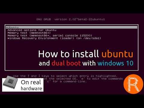 How to install ubuntu and dual boot with windows 10 on legacy bios [On real hardware]