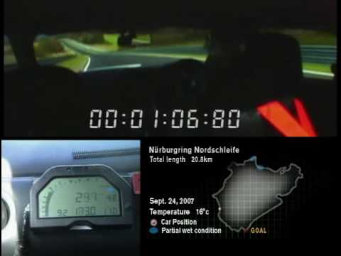 Nissan GT-R runs a 7:38 at Nurburgring