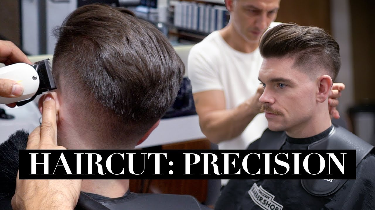 Precision haircut pictures
