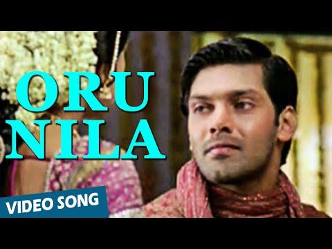 Oru Nila Official Video Song   Chikku Bhukku   Arya   Shriya Saran thumbnail