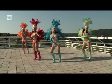 Grupo Caliente - Samba Carnaval do Brasil 2009 na MC2 TV