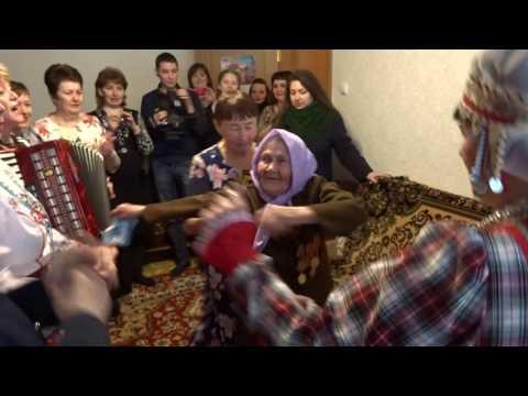Жительница Новочебоксарска станцевала в свой 100-летний юбилей