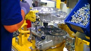 Production dual-clutch gear box. Mercedes-Benz plant Untertürkheim.