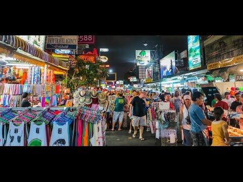 Khaosan Road Bangkok, Thailand. Part 2/2