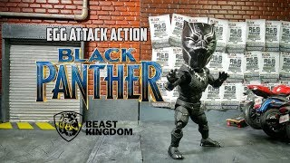 Review Egg Attack Action - Black Panther By Beast Kingdom - Action Figure