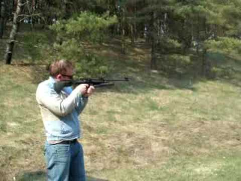 Shooting Pneumatic Rifle (Baikal -Iz)
