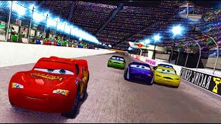 Cars 1 the Videogame 360 - No Com #35 - Lightning Mcqueen VS MOTOR SPEEDWAY (Piston Cup Champion)