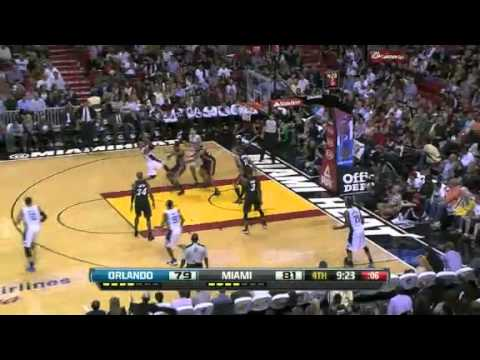NBA CIRCLE - Orlando Magic Vs Miami Heat Highlights 6 March 2013 http://www.nbacircle.com