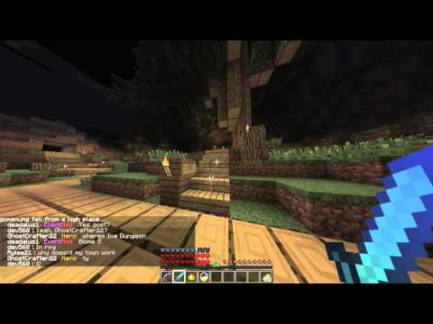 Minecraft Savage Realms RPG World Quest Forest Maze