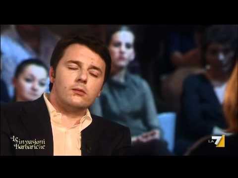 LE INVASIONI BARBARICHE 01/04/2011 - Daria Bignardi intervista Matteo Renzi