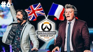 FRANCE VS UK - OVERWATCH PARIS 2018 #AVECLE6