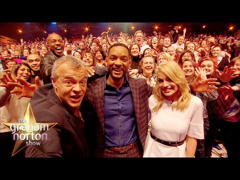 Will Smith Takes A Super-Size Selfie - The Graham Norton Show