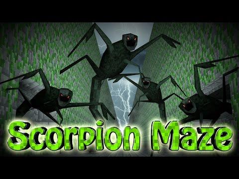 Minecraft | MAZE CHALLENGE SURVIVAL - Scorpion Challenge Part 3! (CrazyCraft)