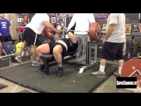 World Record Bench Press (Raw) 722 Lbs by Eric Spoto
