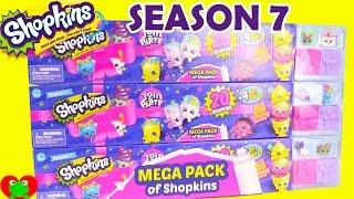 Shopkins Season 7 Mega Packs