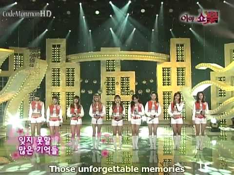 SNSD [LIVE] - Forever (OST.Pasta) {eng}