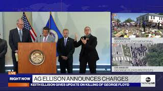 Minnesota AG Ellison announces more charges over George Floyd's death