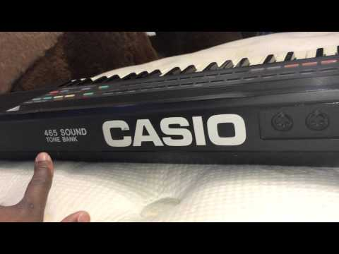 Kris Nicholson Demos His Vintage Casio CT-640