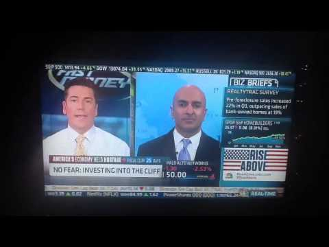 Neel Kashkari on the fiscal cliff effects 12-06-12