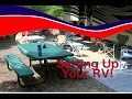 Setting up your RV at your campsite with Doug DeVries | American RV | Winterfest 2017
