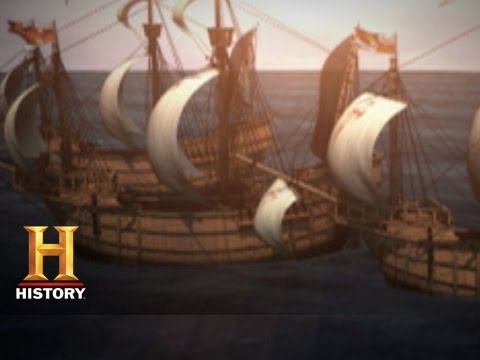 Columbus Day: Christopher Columbus Sets Sail